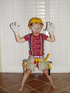 pracovní oblečení pro děti